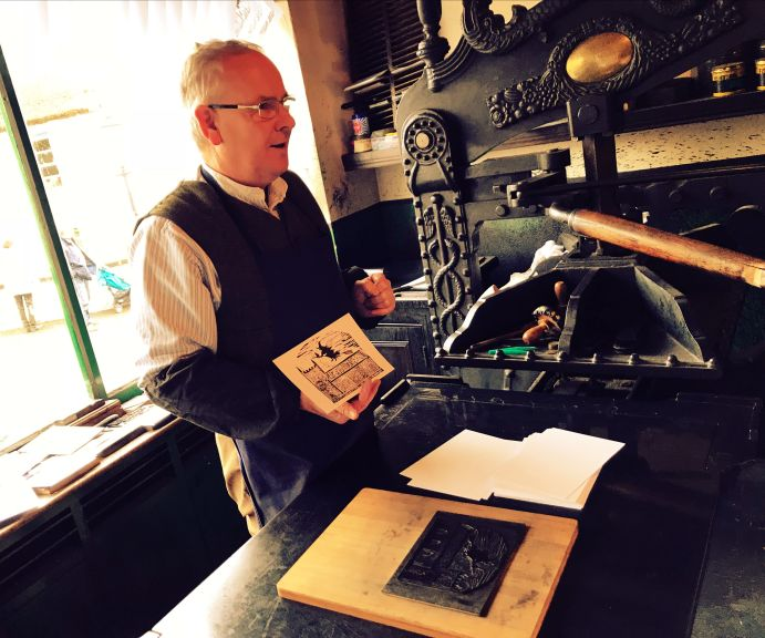 Printers at Ulster Folk & Transport Museum