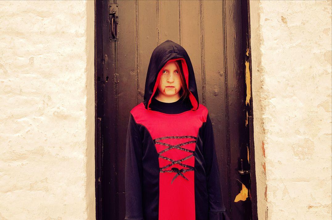 Vampire at Halloween Family Festival Cultra
