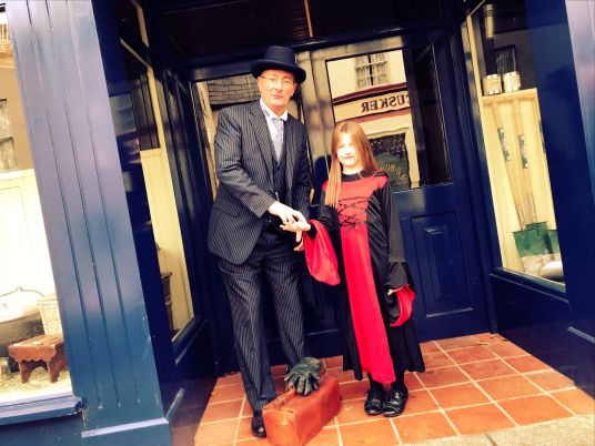 Dr Martin at the Ulster Folk & Transport Museum