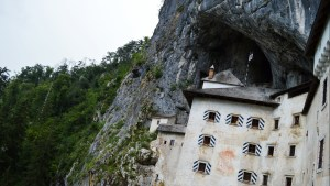 The magnificent 12th century Predjama Castle