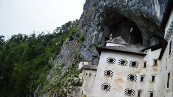 The magnificent 12th century Predjama Castle