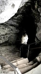 Stairwell within Predjama Castle, Slovenia