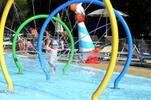 Splash pool at Marina Julia Camping Village