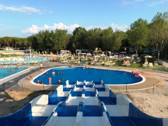 Water slides at Marina Julia Camping Village