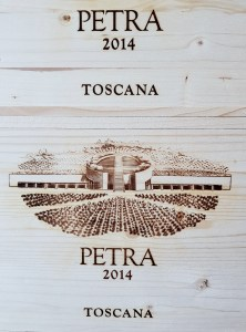 Petra Wine in Tuscany