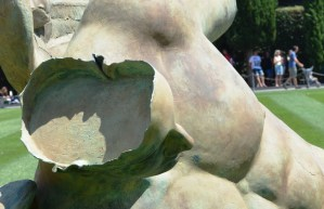Igor Mitoraj's Fallen Angel at the Square of Miracles in Pisa