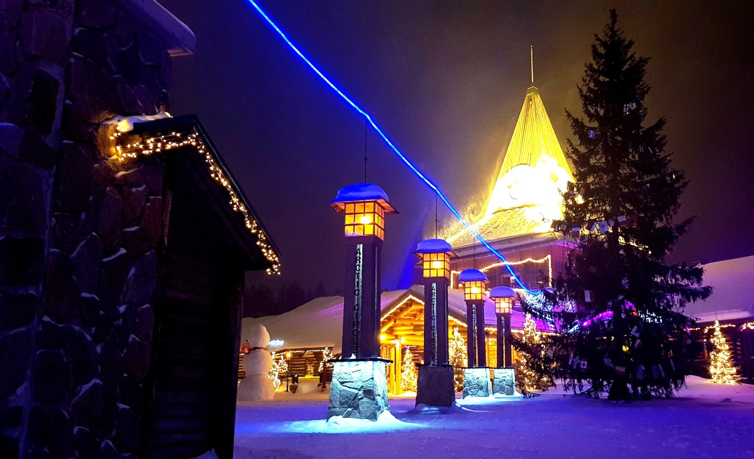 Santa Claus Holiday Village in Rovaniemi