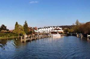MArlow Lock on the River Thames