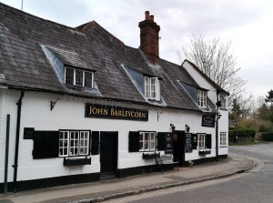 John Barleycorn pub in Goring on the River Thaames