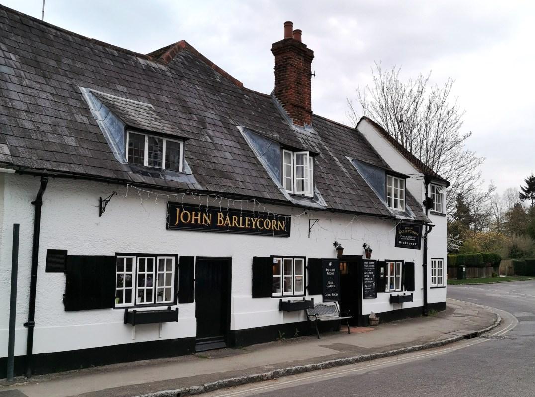 John Barleycorn pub in Goring on the River Thaames