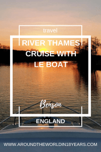 River Thames Cruise with Le Boat