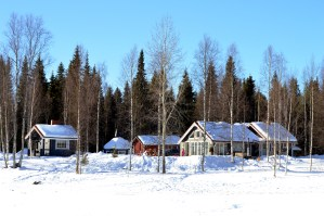 A Cosy Cottage by the River in Rovaniemi, Finnish Lapland