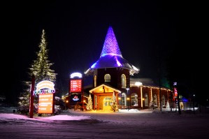 Santa Claus Holiday Village in Rovaniemi, Finnish Lapland