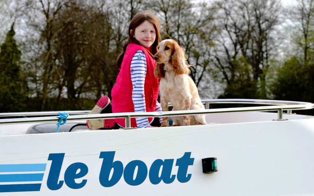 Rosie on a River Thames Cruise with Le Boat