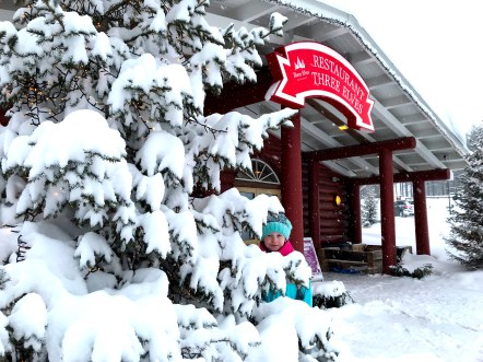 3 Elves Restaurant at Santa Claus Holiday Village in Rovaniemi, Finnish Lapland