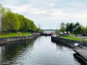 Albert Lock on the River Shannon in Ireland