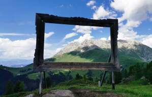 Picture perfect views from Ski Center Latemar in Predazzo