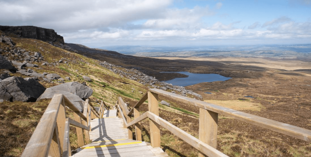 Cuilcagh Boardwalk, Marble Arch Caves Global Geopark