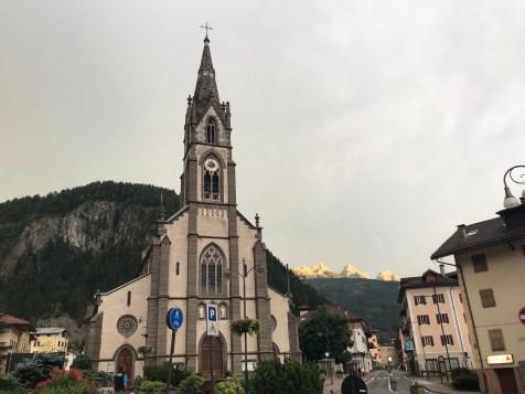 The Church of Predazzo