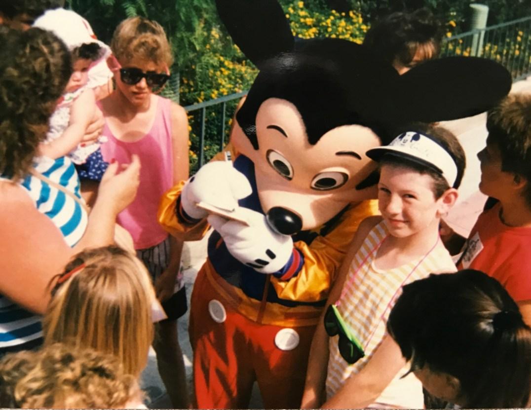 Mummy meets Mickey Mouse at Disney World, Florida