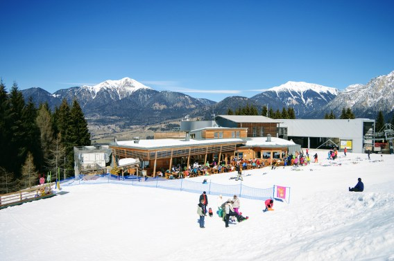 Alpe Cermis in Winter