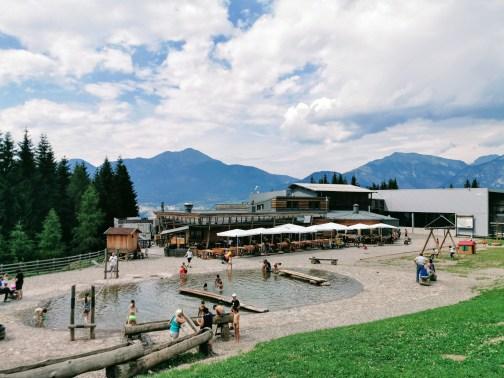 Alpe Cermis in Summer