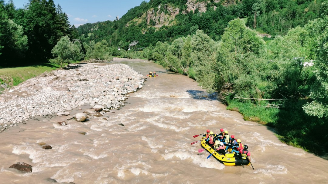 River Rafting with Avisio Rafting in ALpe Cermis, Italy