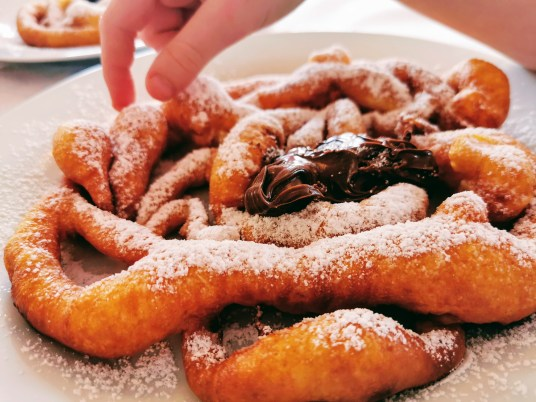 Fortaie, a sweet and delicious delicacy in Val di Fiemme
