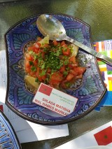 Tomato and preserved lemon salad (Shlada matisha wal hamed markad)