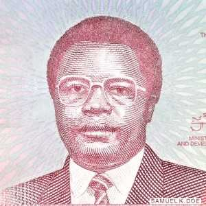 Liberia 50 Dollars 2016 banknote front (2) featuring president Samuel K. Doe