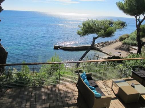 View from La Villa Madie