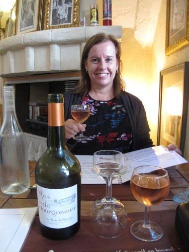 Restaurant Verietes Les Baux de Provence, France.