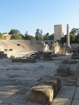 The Roman theater Arles, France.