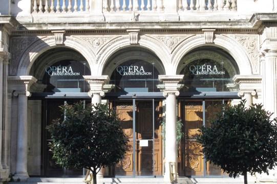 Opera House Avignon, France.