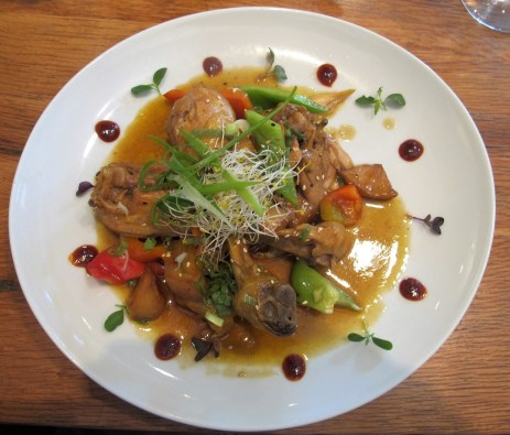 Phillippine style chicken at BiBap Palma, Mallorca