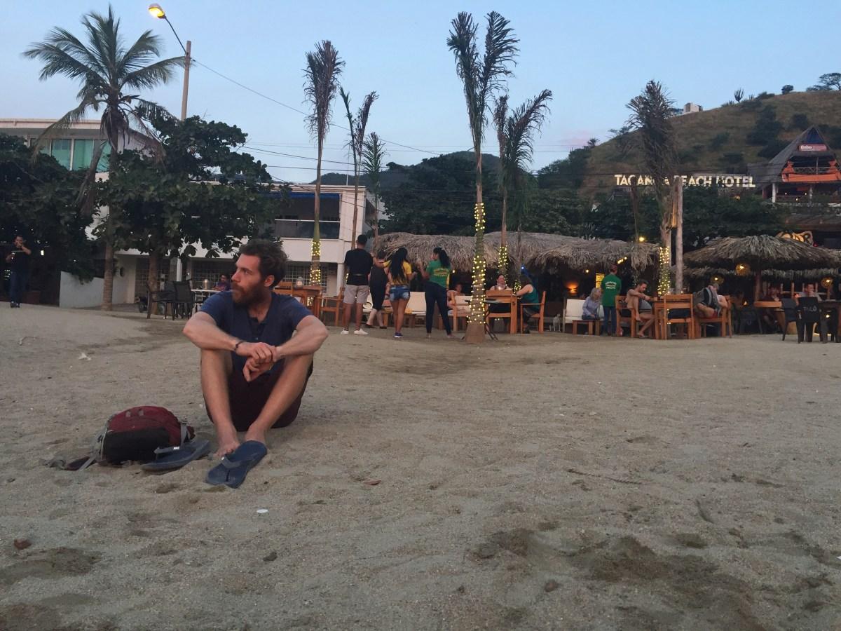 Sunset Taganga Beach