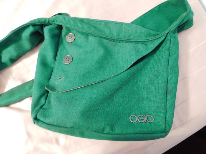 Green OGIO Brooklyn Shoulder Bag