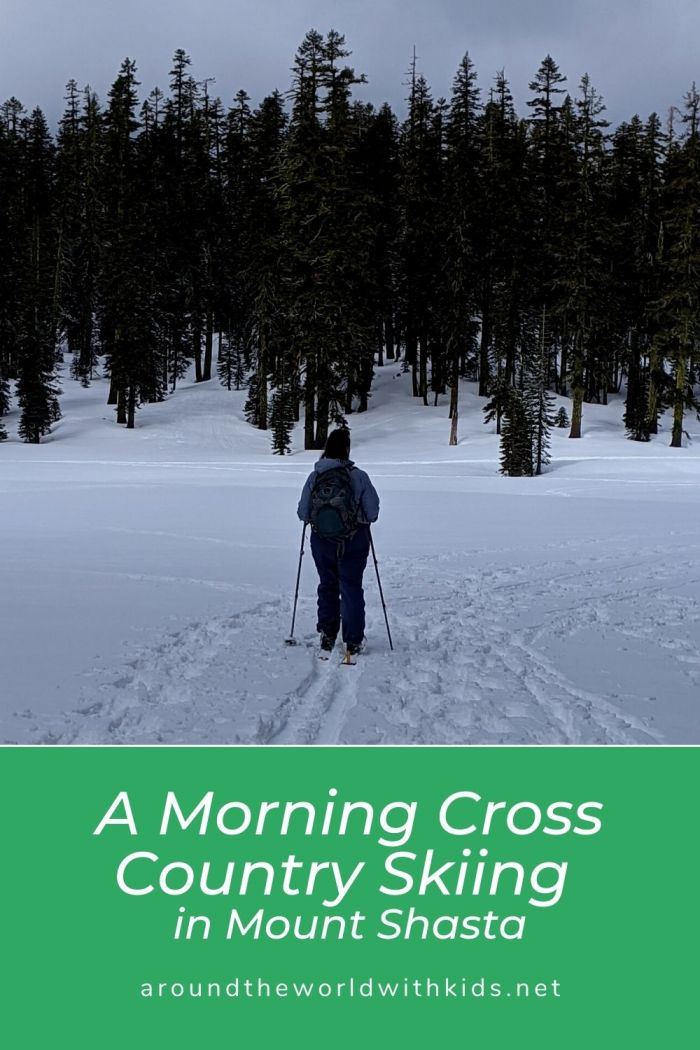 A Morning Cross Country Skiing
