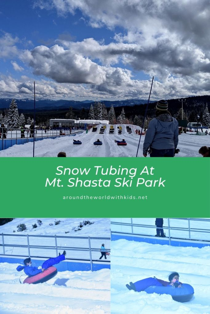 Snow Tubing at Mt. Shasta Ski Park