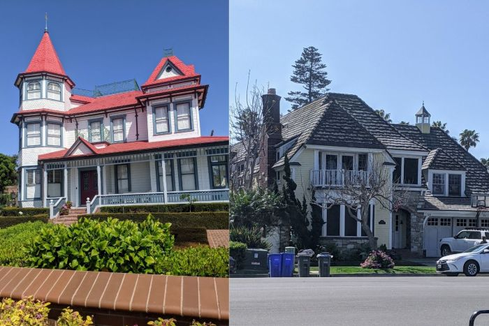 Houses in Coronado Island