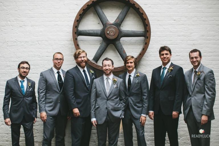 Moody Indoor Urban Wedding at The Foundry