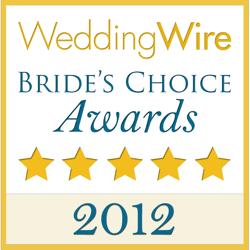 2012 Wedding Wire Bride's Choice Logo