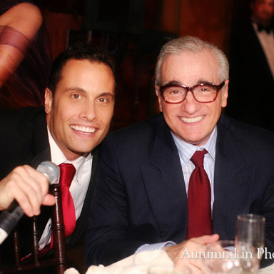 Martin Scorsese with Adam Michaels of Around Town Entertainment