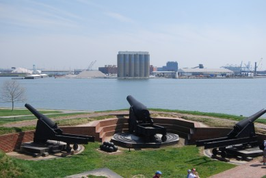Artillery Cannon at Fort McHenry