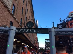 Eutaw Street Entrance to Camden Yards