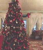 Tree in Lobby of Red Lion Inn