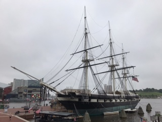 USS Constellation 1854