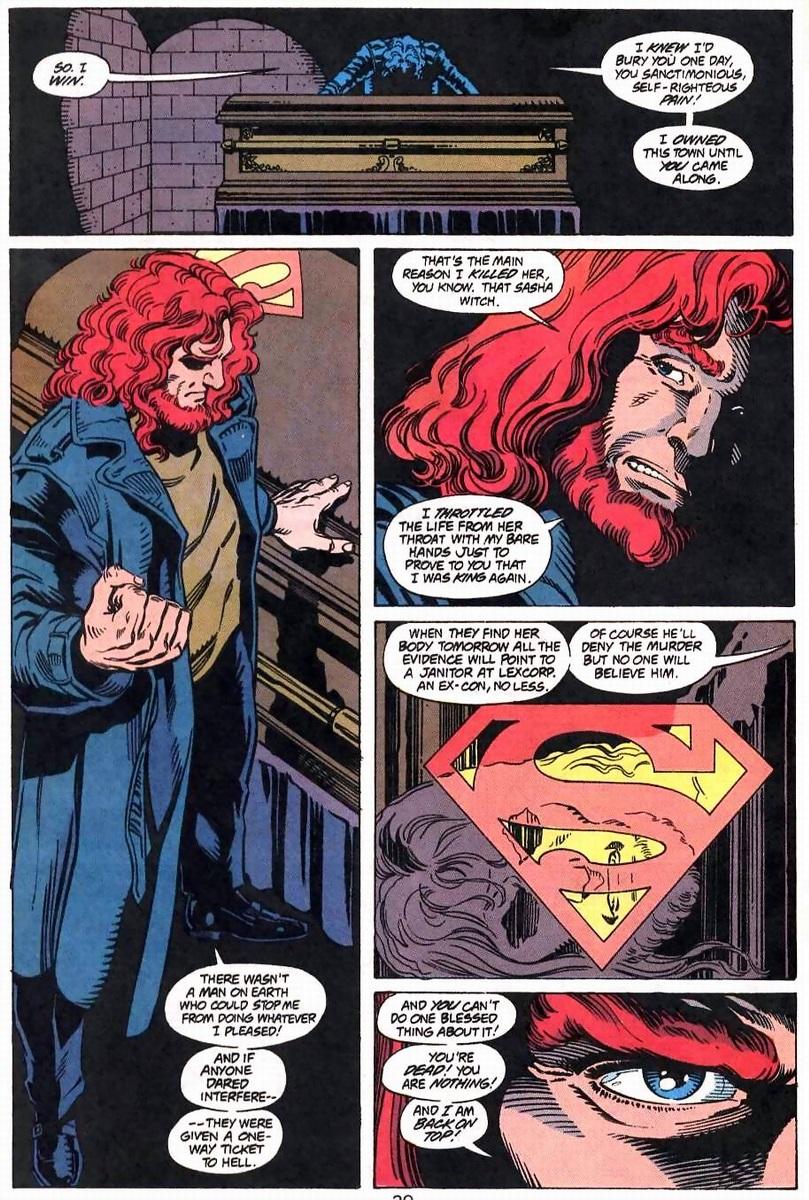 Lex Luthors 90s Mystery Hair Pt 2 Arousing Grammar