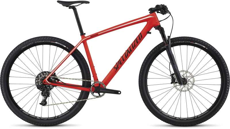 Bic. 29 Specialized Epic Ht Expert Carbon WC size M Rojo/Negro/Blanco 2017 [91317-3103]