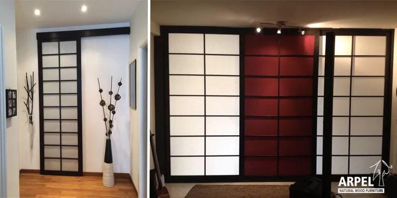 murs coulissants japonais arpel mobilier